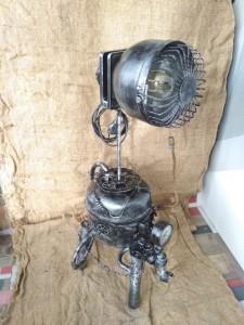 Эксклюзивные осветительные приборы лампа авторская с крышкой