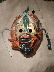 маска с экокожей